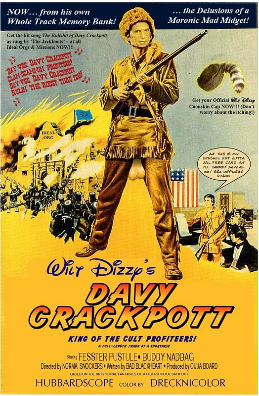 Davy Crackpott Movie Poster