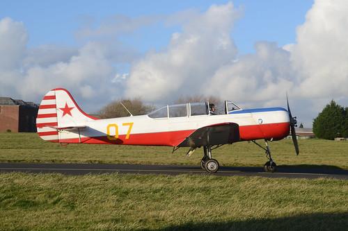 07y G-BMJY Yak-18A
