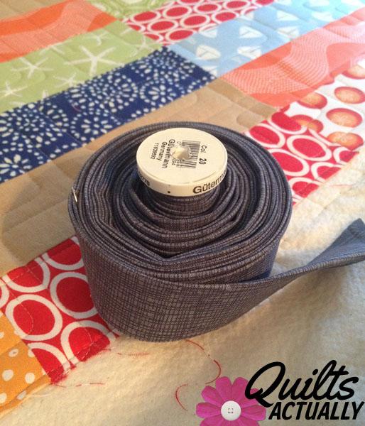 Spinnaker Quilt binding