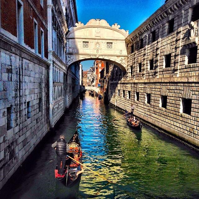 威尼斯太美.之二:嘆息橋