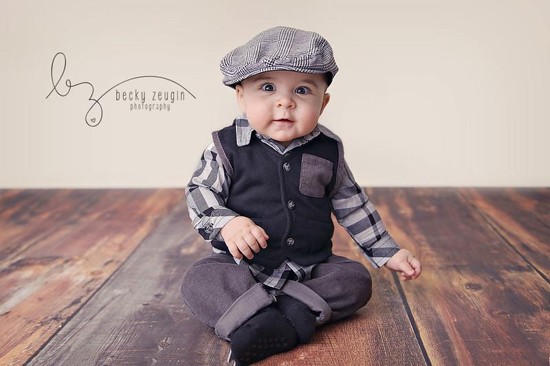 12214946384 f91c67f2d1 c Brayden 7 Months | McKinney Baby Photographer