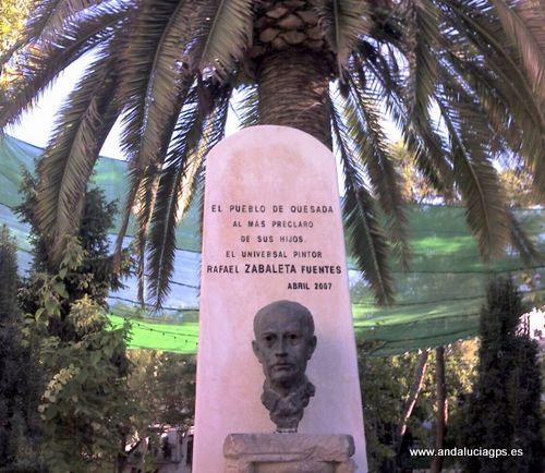 Jaén - Quesada - Monumento al pintor Zabaleta - 37 50' 43 -3 4' 1