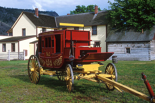 Cariboo Stagecoach, Hat Creek Ranch, Cache Creek, Thompson Okanagan, British Columbia