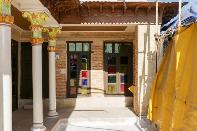 Niayesh Boutique Hotel, Shiraz シラーズ、ニヤシュホテルの中