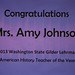 2013 History Teacher of the Year