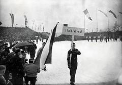 Intocht bij Olympische Winterspelen in Garmisch-Partenkirchen / Opening of the Winter Olympics in Garmisch-Partenkirchen