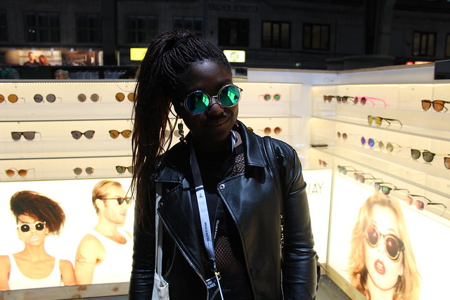 Berlin Fashion Week Lois Opoku Quay Eyewear Bread& Butter January 2014 lisforlois