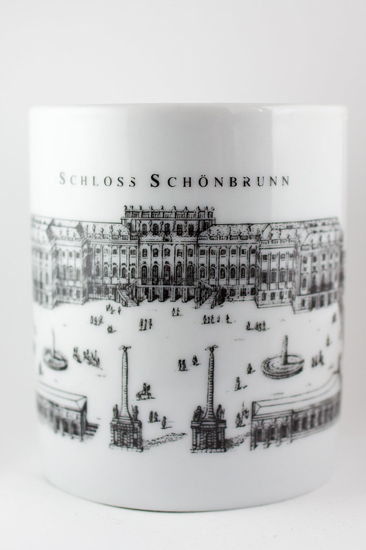 Wednesday, January 1: Souvenirs from Vienna, a mug from the Schloss Schonbrunn christmas markets. I drank baileys punsch and orange aperol punsch from this mug. It's day  one of the Whole30 for me and Brend, there's going to be a lot of tea drinking to ma