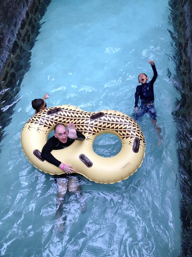 Floating down the Lazy River