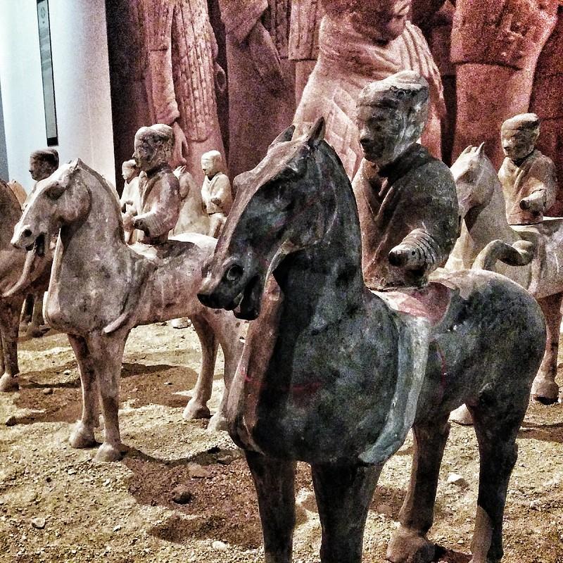 Visita a la exposición del Ejercito de Terracota en Madrid