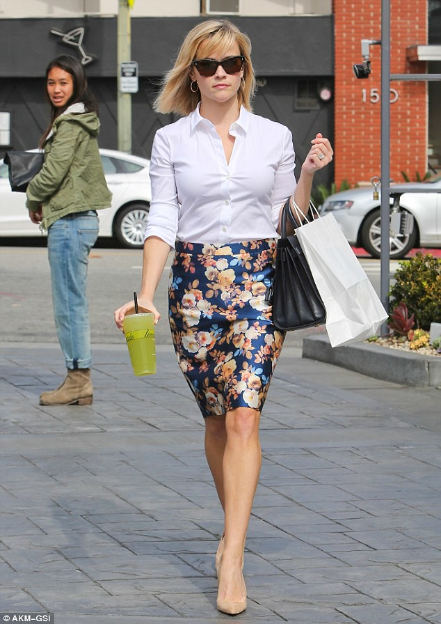office outfit floral pencil skirt   office   alwand