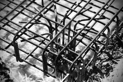 Rebar at the Mayflower construction site