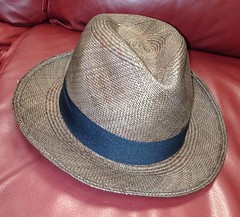 brown branko toquilla straw panama hat