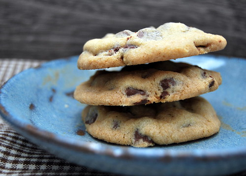 Soft Chocolate Chip Cookies - plated-001