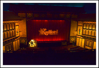 Redford Theatre in Detroit, Michigan