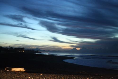 Dawn in Bali