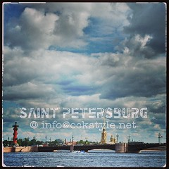 Bridges n Clouds of Saint Petersburg