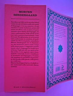 A Vinci, [...], di Morten Søndergaard. Del Vecchio edizioni 2013. Art direction, cover, logo: IFIX. Risvolto della quarta di copertina, quarta di copertina. (part.), 2