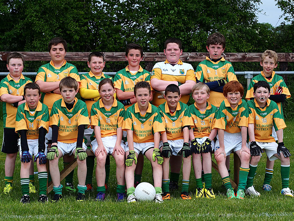 Kildangan V Ellistown U12 Semi May '14