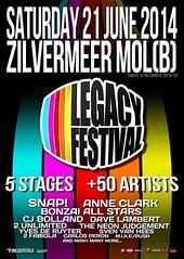 cyberfactory 2014 legacy festival zilvermeer mol belgium