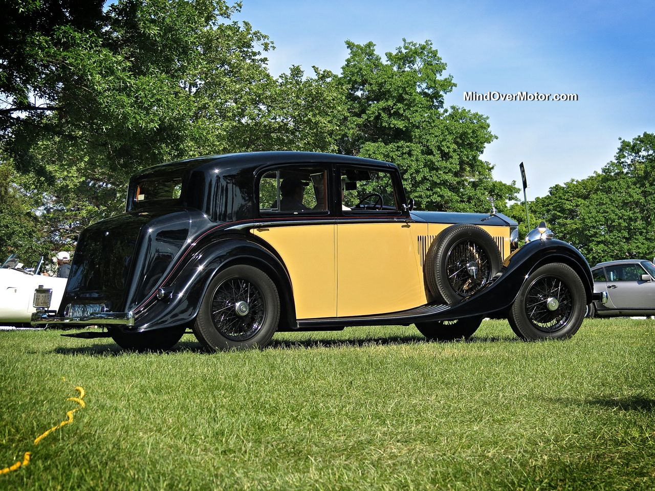 1935 Rolls Royce 20/25 at the Greenwich Concours