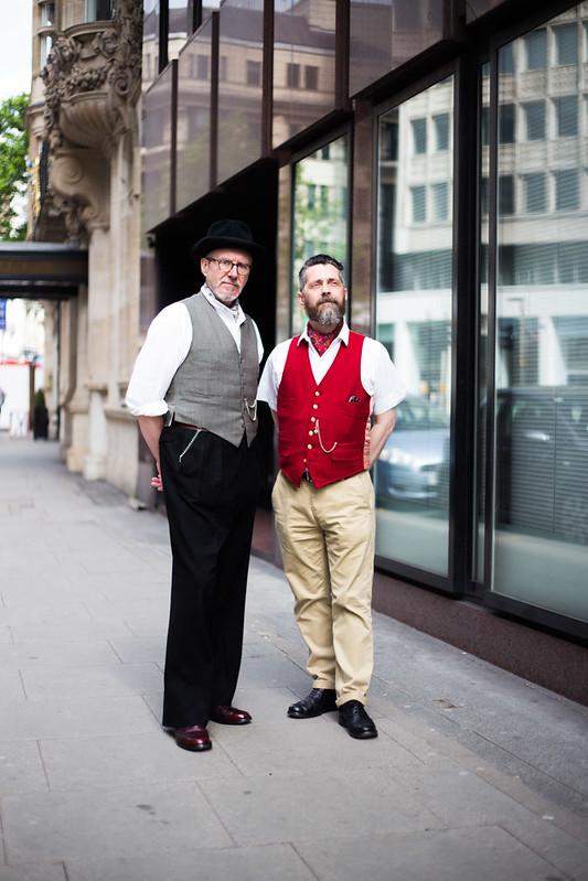 Street Style - Gary & Alan, High Holborn