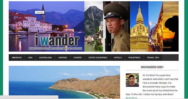 Meet the Nomads - Bino Chua of I Wander