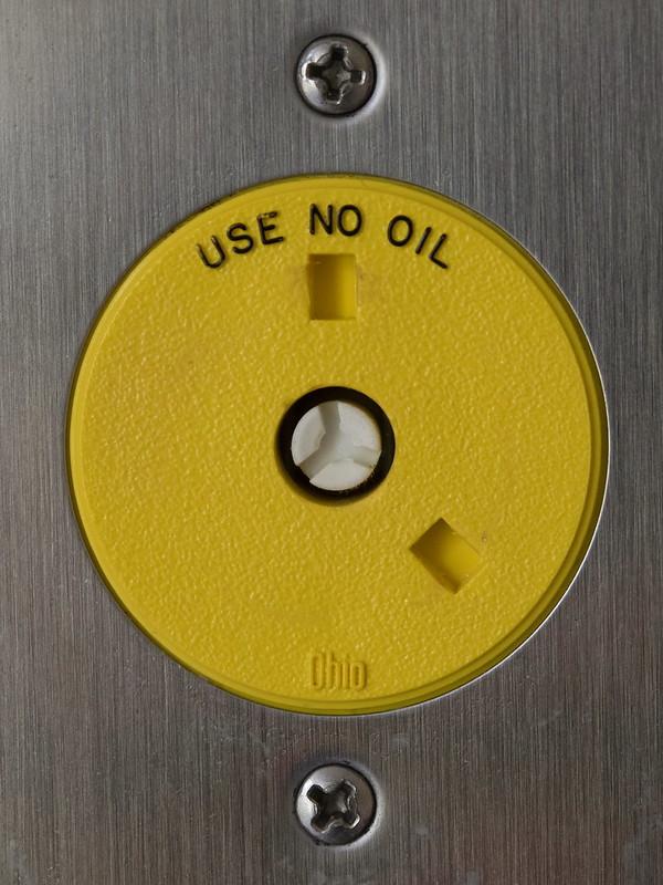 No Oil