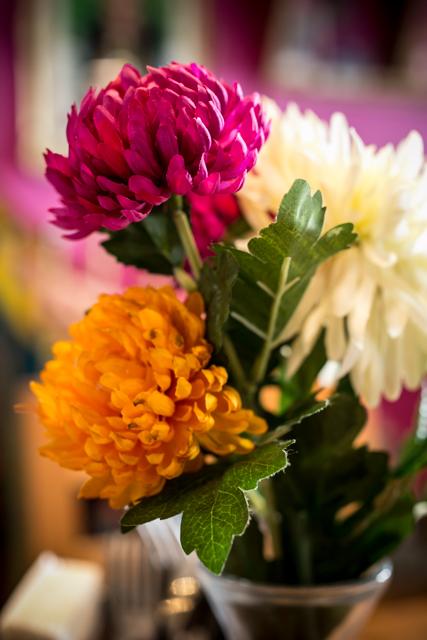 Flowers at La Choza
