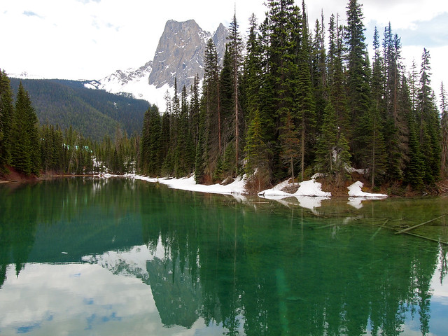 Emerald Lake in Yoho National Park