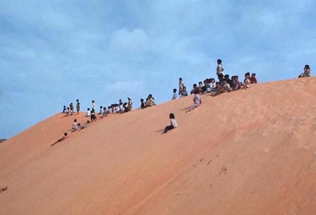 Binh Thuan Province 1970-71 - Hai Long Sand Dune - Đồi cát Mũi Né