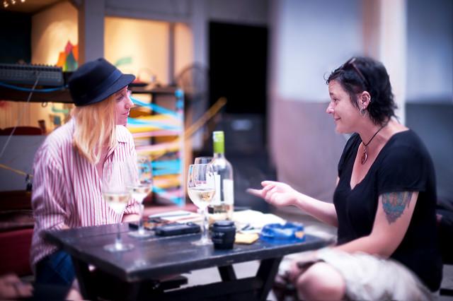 In Conversation Liz Glennard and Natasha Kovalenko