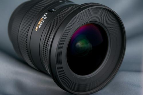 SIGMA 広角ズームレンズ 10-20mm F3.5 EX DC HSM ニコン用 APS-C専用