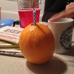 Day 44 - Happy Birthday Orange For Paul