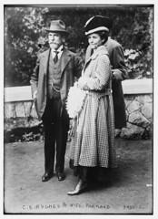 C.E. Hughes & wife at Portland, Ore. (LOC)