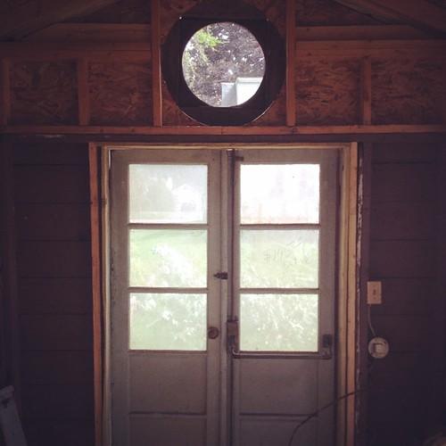 From the inside #studio #tinyhouse
