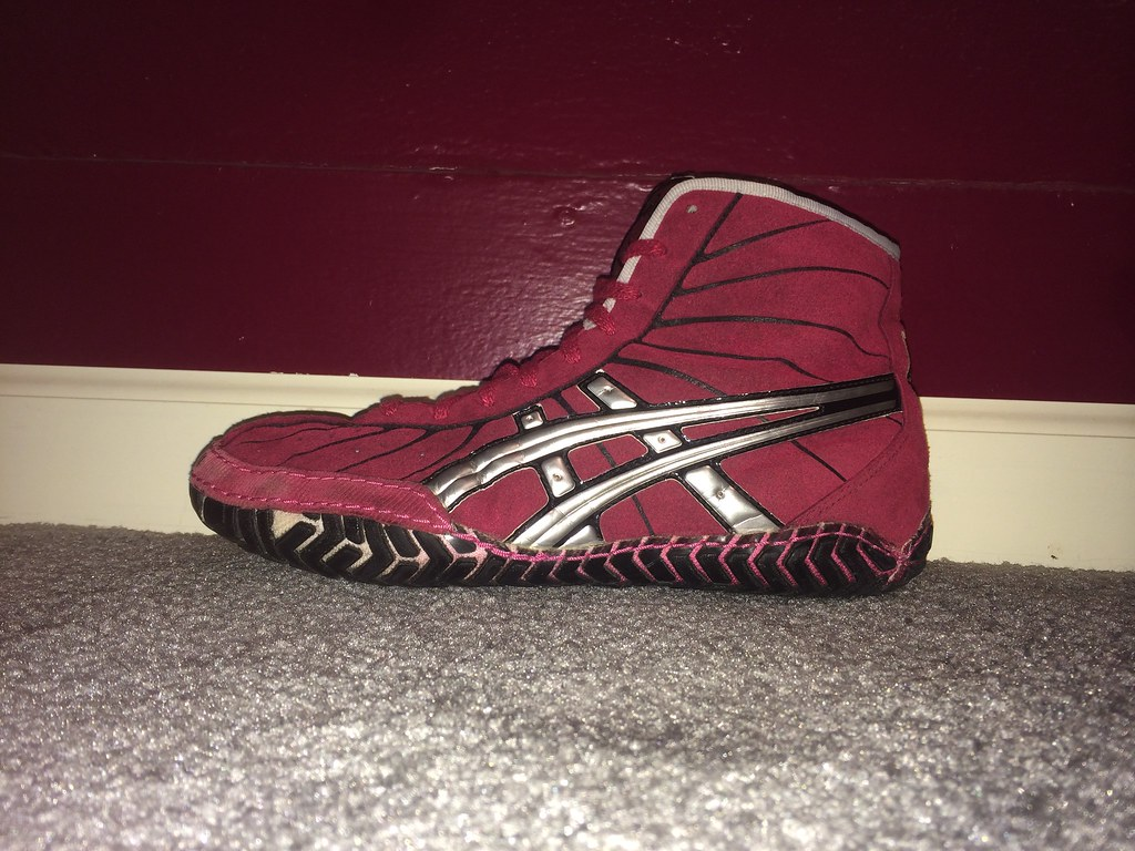 Red Rulons Wrestling Shoes
