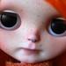Pumpkin black eyes