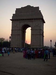 Image of India Gate.