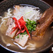 Okinawa soba with sliced pork belly