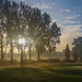 Merstham Cricket Club, early morning by paul_clarke