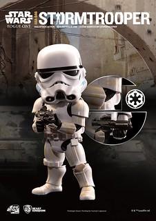 野獸國 Egg Attack Action 系列【帝國暴風兵】星際大戰外傳:俠盜一號 Stormtrooper EAA-046