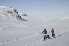 Jeďte na lyžích napříč Švédskem jako králové!