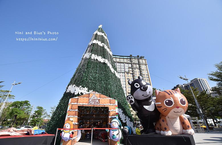 台中市府廣場耶誕夜遊樂園06