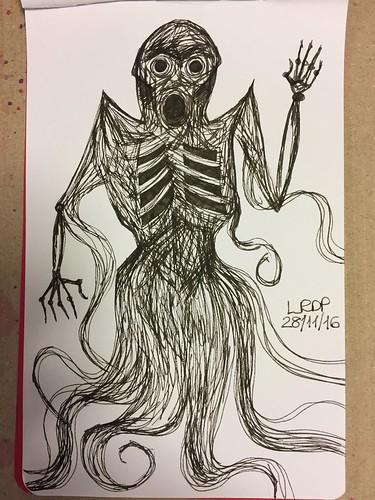 43 Inktober 2016 - Dementor