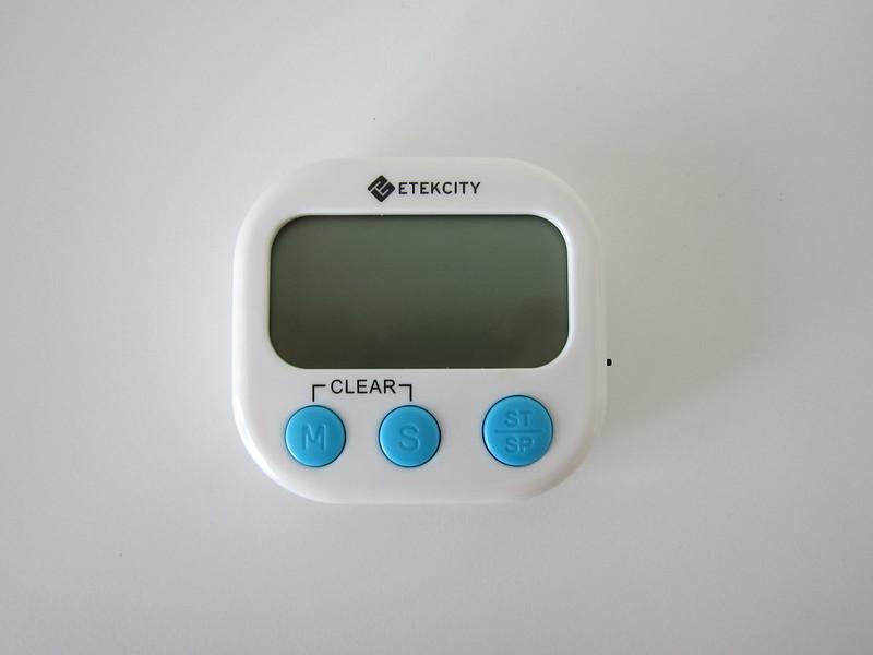 Etekcity Digital Timer - Front