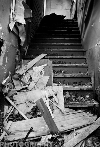 Stairway to Decay by Ricky L. Jones Photography