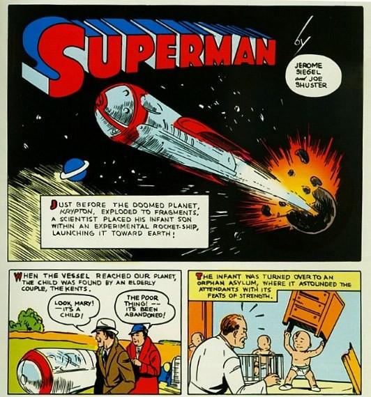 1939, première appellation de la planète d'origine de Superman : Krypton