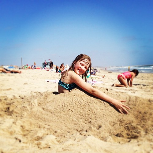 Sand mermaid