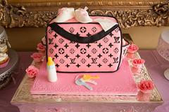 a472911c3995 Louis Vuitton diaper bag cake